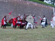 Istorie vie la Apulum: Lupte între daci și romani, demonstrații de lupte și asedii de cetăți