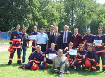 Pompierii voluntari din Abrud cei mai buni din județ