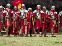 Garda romană pune astăzi din nou stăpânire pe Cetatea din Alba Iulia