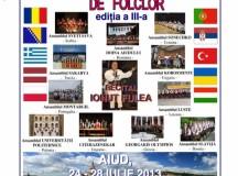 24-28 iulie: Aiudul găzduieşte o nouă ediţie a Festivalului Internaţional de Folclor