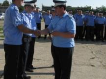 92 de jandarmi din Alba au fost avansaţi în grad