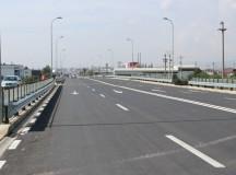Foto: Drum cu adevărat european la intrarea în Alba Iulia dinspre Cluj