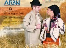 """23-24 august 2013 Alba Iulia: Festivalul de tradiții românești – """"Din lada de zestre"""""""