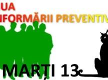 ISU Alba: Marţi 13 – Ziua Informării Preventive