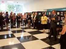 Vernisajul expoziţiei Inter-Art de la Sediul ONU din New York