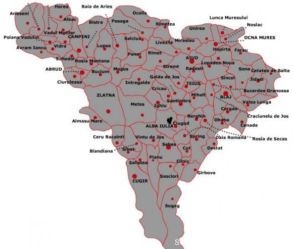 Alba Harta Administrativa 580 493 Informatia De Alba