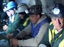 Minerii din Valea Jiului solidari cu protestul minerilor din Roșia Montană