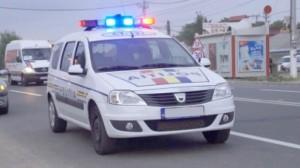 Acţiune de menţinere a climatului de siguranţă civică, organizată de  poliţiştii din Vinţu de Jos