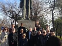FOTO:Ion I.C. Brătianu comemorat la Alba Iulia