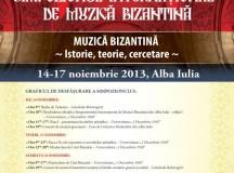 Simpozionul Internațional de Muzică Bizantină la Alba Iulia