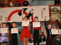 FOTO: Micii dansatori din Cugir premiați la concursurile de la Mediaș și Turda