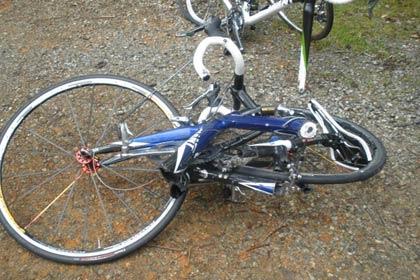 UPDATE: Accident rutier pe raza localității Aiud. Biciclist băut transportat la spital pentru investigații.