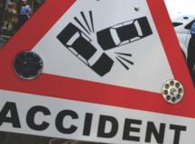 Accident rutier în Micești. Trei persoane au fost rănite.