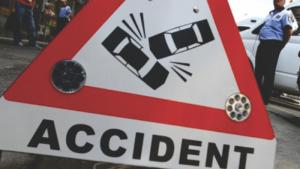 Accident rutier soldat cu rănirea uşoară a unei persoane
