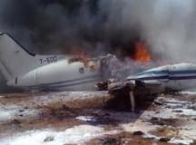 UPDATE: Avion cu medici, la pământ. Două persoane decedate, o persoană în stare gravă.