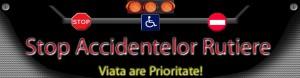 Acţiune de prevenirea a accidentelor rutiere, organizată de poliţiştii Serviciului Rutier