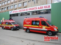 Poliţiştii din Blaj, continuă cercetările, pentru stabilirea tuturor împrejurărilor în care două persoane au ajuns la spital, cu plăgi înjunghiate