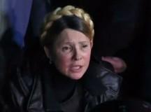 Iulia Timoşenko, primită cu aplauze în Piaţa Independenţei: CANDIDEAZĂ LA PREZIDENŢIALE