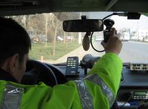 În weekend, polițiștii sunt cu ochii pe șoferi. Aici aveți amplasarea radarelor în perioada 09-10.02.2014