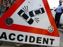Baut la volan, un albaiulian a fugit de la locul accidentului pe care l-a produs