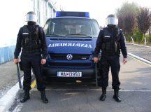 Jandarmeria Alba: 500 de misiuni in luna august