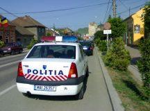 Un tanar sofer din Sasciori prins de politisti dupa o urmarire ca-n filme