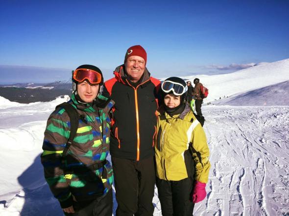 Iohannis la schi