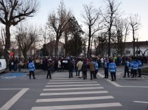 Alba Iulia: Miting de sustinere a Guvernului Grindeanu