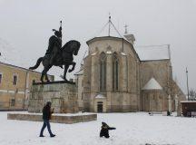 Judetul Alba: Iarna nu vrea sa plece