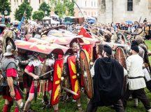 Garda Apulum, spectacole pentru turisti la Alba Iulia
