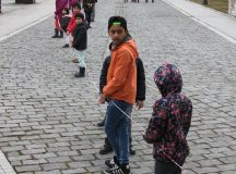 Cel mai lung snur al unui martisor din lume este la Alba Iulia