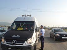 Actiune cu efective marite de politie la Aiud