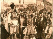 Romanii ucisi de maiorul Hatvani in timpul revolutiei pasoptiste, comemorati la Abrud