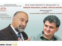 Eveniment: Varujan Vosganian si Daniel Cristea-Enache la Targul de Carte