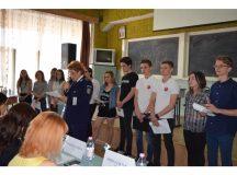 Elevii Colegiului Economic D.P. Martian, locul 3 la Oradea