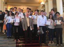 Elevi militari la concursul judetean de matematica Mircea Ganga