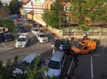Masina furata din judetul Alba, oprita de un filtru al politiei Sibiu