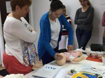 Crucea Rosie filiala Alba: Cursuri de instruire pentru acordarea primului ajutor