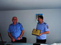 Alba Iulia: Adjunctul comandantului jandarmilor a iesit la pensie