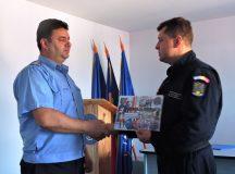 Comandantul Detasamentului III Jandarmi Aiud s-a pensionat