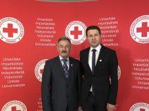 Gheorghe Stef, ales membru in Comitetul de Directie al Societatii Nationale de Cruce Rosie din Romania