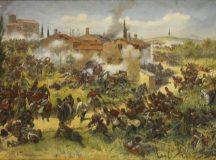 Exponatul lunii iunie: tabloul Batalia de la Custozza