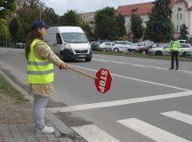 Alba: Atentie sporita a politistilor in zona scolilor