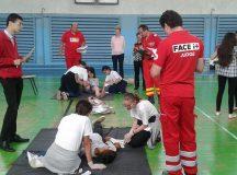 Elevii din Ocna Mures au castigat faza judeteana a concursului Sanitarii Priceputi
