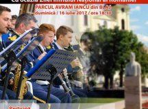 Concert de fanfara la Blaj