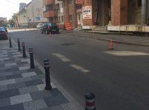 Alba Iulia: Pietonii au primit trotuarele inapoi