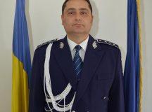 Comisarul-sef Sorin Cioanca, noul comandant al Inspectoratului de Politie al Judetului Alba