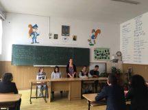 Alegeri la Consiliul Elevilor din Liceul Teoretic Teius