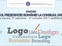 Concurs pentru realizarea logo-ului pentru perioada in care Romania va detine presedintia Consiliului Uniunii Europene