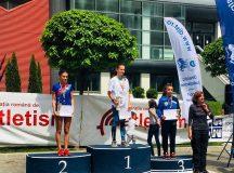 Roxana Panța, sportivă legitimată la CS Unirea Alba Iulia, vicecampioană națională la semimaraton